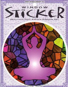 Self Healing Yoga: Karma Window Sticker